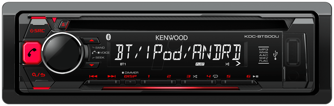 kenwood kdc bt500u la tecnoelettronica. Black Bedroom Furniture Sets. Home Design Ideas