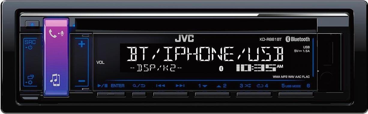 JVC ricevitore collegamento